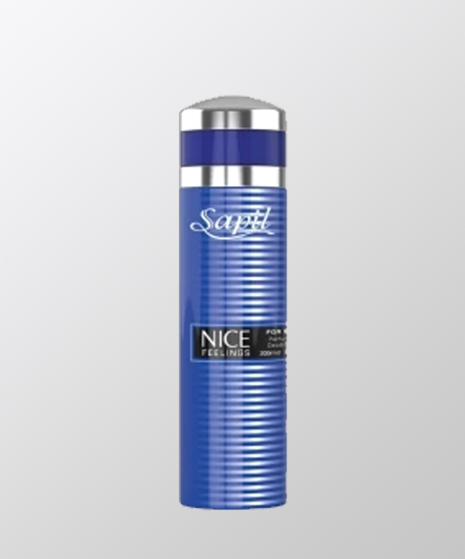 NICE FEELING BLUE DEODORANT FOR MEN